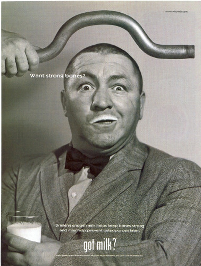 Curly Howard- My son loves The Three Stooges.