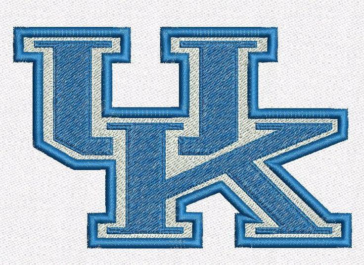 "Kentucky University embroidery designs. Kentucky University Logo. Formats: CSD, DST, EXP, HUS, JEF, PES, SHV, VIP, XXX, VP3,   Sizes:  3.82x2.48"", 4.75x3.07"", 5.93x3.83"".    Price 2.50$   Contacts: provokator04@rambler.ru"