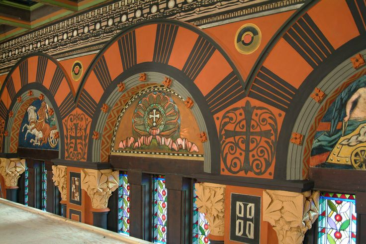 John Canning Studios conserved and restored Trinity Church in the City of Boston's artwork and plaster. Click to learn about this project.