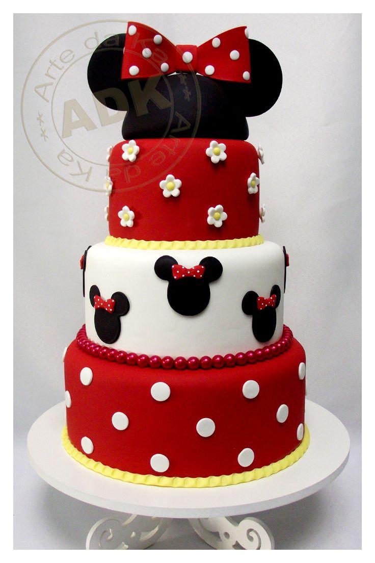 Minnie cake // Tarta de minnie