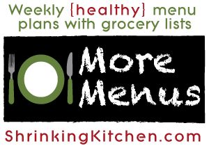Free healthy recipes for every night of the week!
