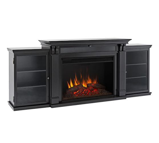 Real Flame® Tracey Grand Electric Fireplace Media Cabinet ...