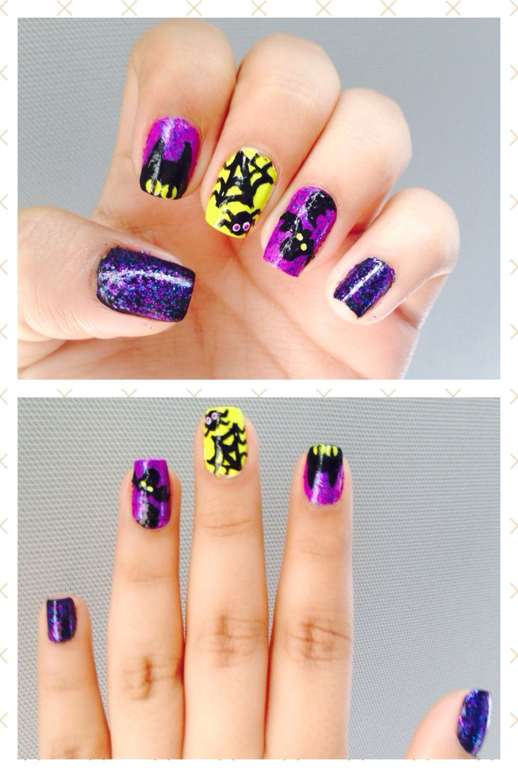 170 best Halloween Nails images on Pinterest