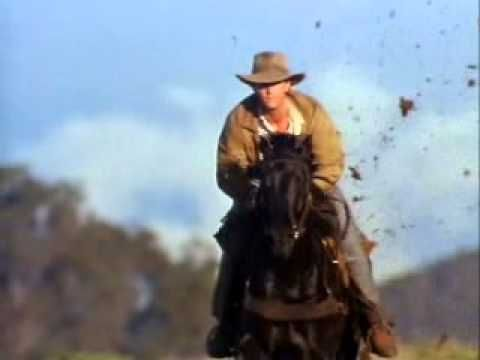 Return To Snowy River-Black Stallion Ride...i would love to ride like that!!! exhilarating!!
