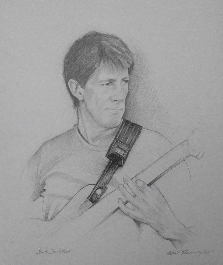 Bass player Steve Sculpher