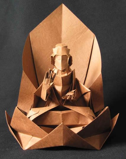 Origami: 15 Most Amazing Paper Sculptures (paper sculpture, cool origami) - ODDEE
