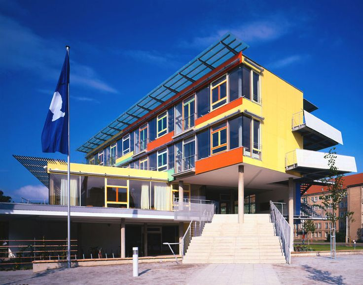 Saint Benno grammar school 1997 Dresden (Germany)