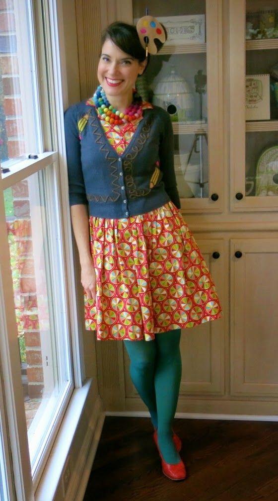 Cassie Stephens: what the art teacher wore