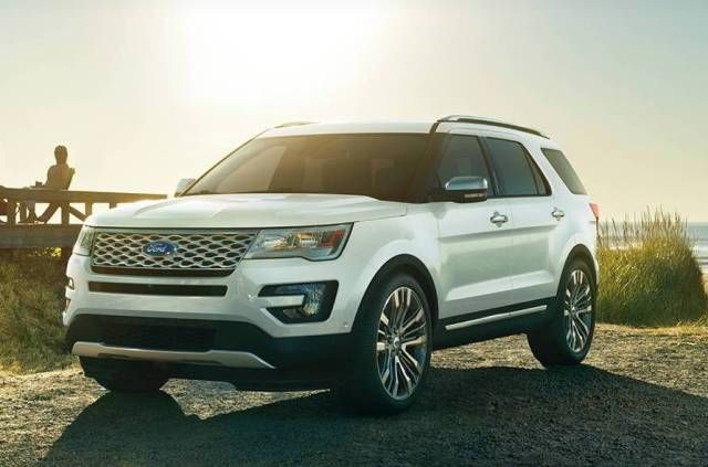 2016 Ford Explorer the only Ford SUV Names in 2016 yet