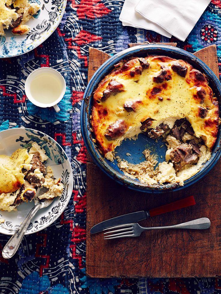 Tave kosi (baked lamb and rice with yoghurt)  Albania