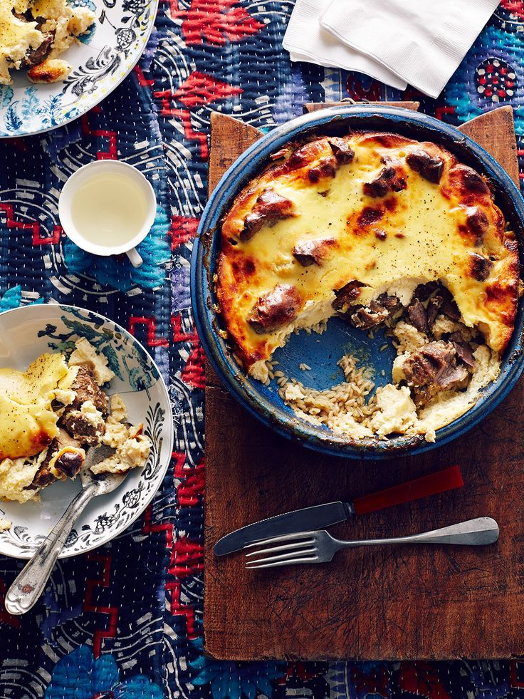 Tave kosi (baked lamb and rice with yoghurt) Albanian traditional dish