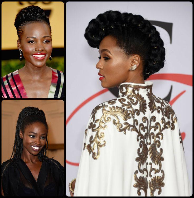 cool Black Women Braided Updos 2015 Summer //  #2015 #Black #Braided #summer #updos #Women
