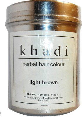 Khadi Natural Ayurvedic Herbal Hair Color Light Brown (150 g) *** Be sure to check out this helpful article. #hairgrowth