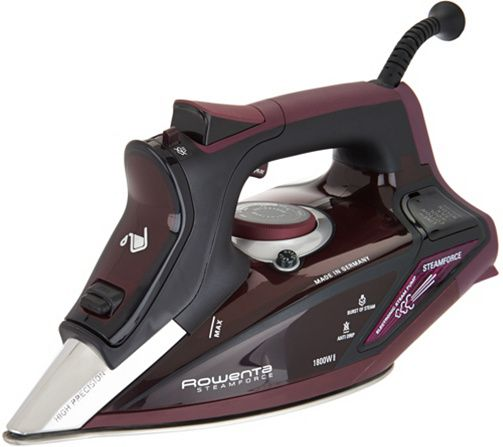 Rowenta Steamforce 1800W Iron with Electronic Steam Pump — QVC.com