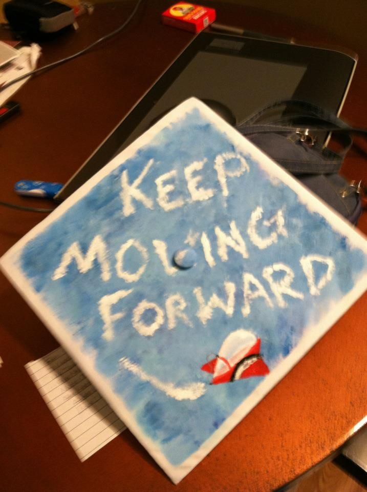 meet the robinsons <3  N2S:I must do this to my graduation cap!!!