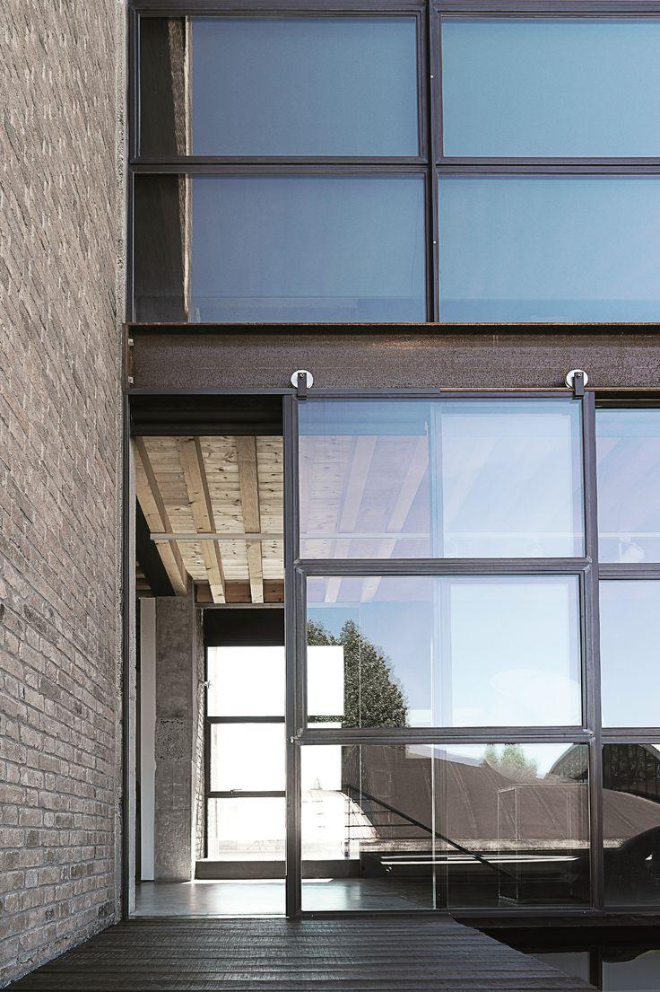 FERROFINESTRA TAGLIOTERMICO Porta-finestra scorrevole by @mogssteel