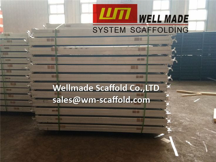 Aluminium planks for ringlock scaffolding(pin lock scaffold) and frame scaffolding to USA and Canada in size of 7' and 10'