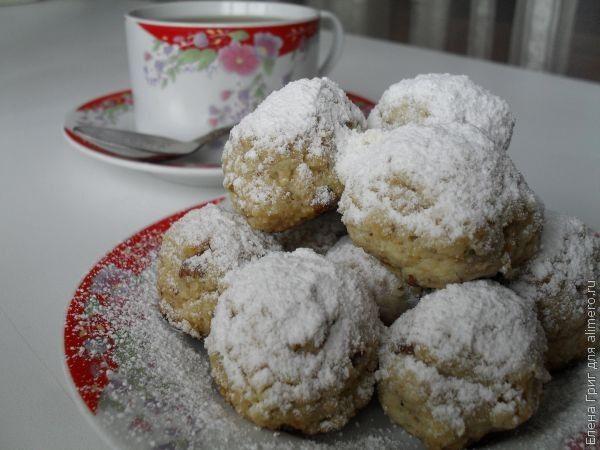 Мексиканское свадебное печенье / Рецепты с фото
