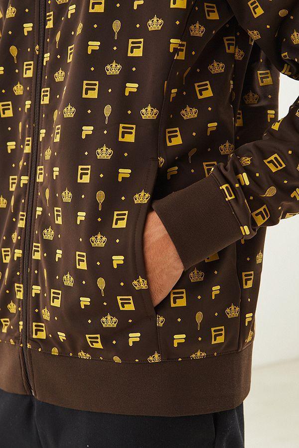 Uo Track Monogram 5 Jacket Slide View Fila 0wXxtpzz1q
