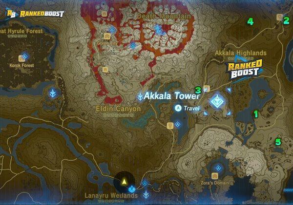 Zelda Breath Of The Wild Shrine Locations Breath Of The Wild Dungeons Breath Of The Wild Zelda Breath Wild