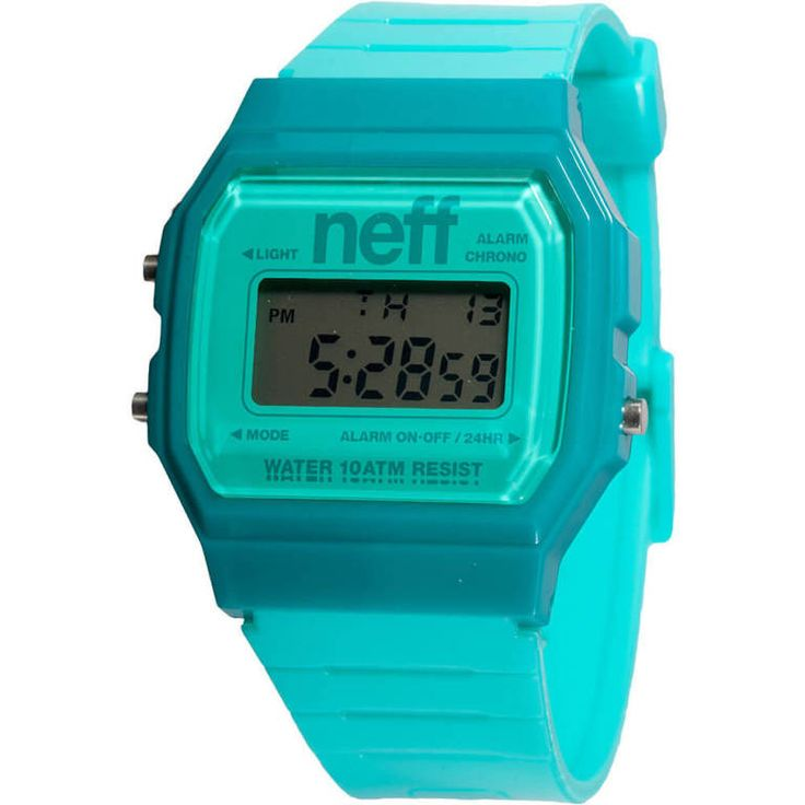 The surf watch that won't break the bank! Get yours in any of our rad colors today! - Custom design watch with ABS Case and PU strap. - Water resistant to 330 ft.