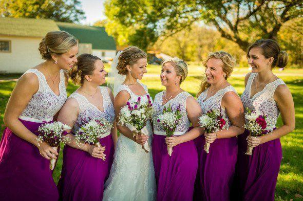 Elegant Rustic Farm Wedding