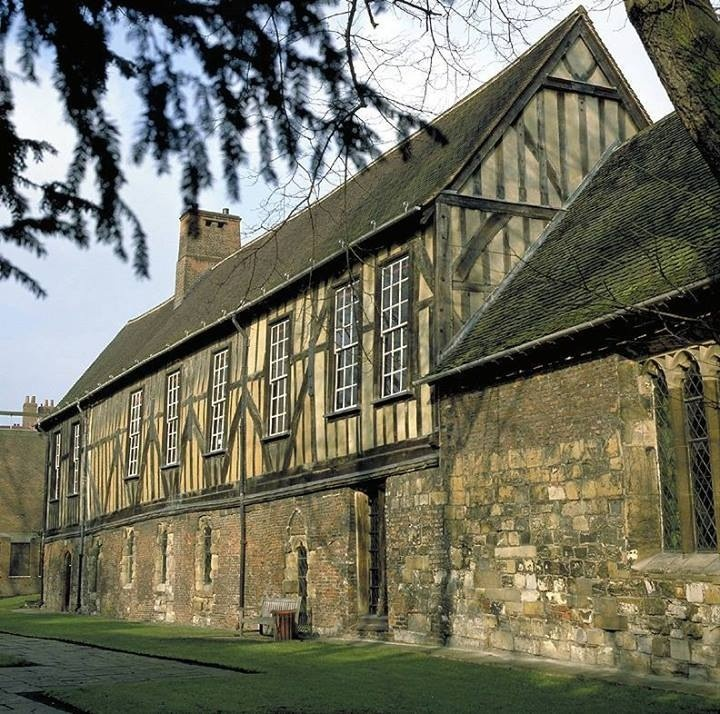 Medieval Guild Hall In York Built Mid 14th Century