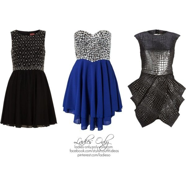 """""""3 different style event dress"""" by ladies-only on Polyvore"""