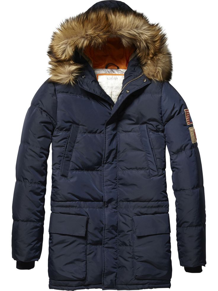312 / Mid Length Quilted Jacket | Jackets | Men's Clothing at Scotch & Soda