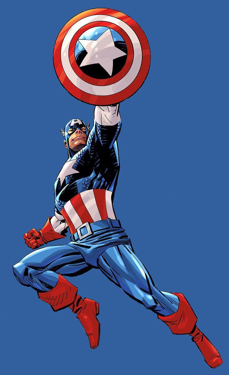 Captain America by Dan Panosian