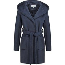 mint&berry Płaszcz wełniany /Płaszcz klasyczny navy blazer