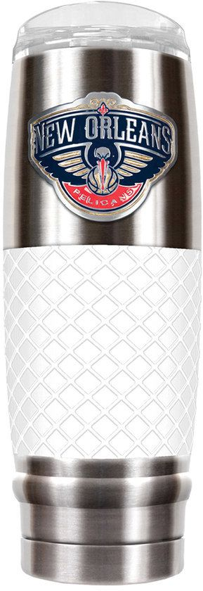 NBA New Orleans Pelicans 30-Ounce Reserve Stainless Steel Tumbler