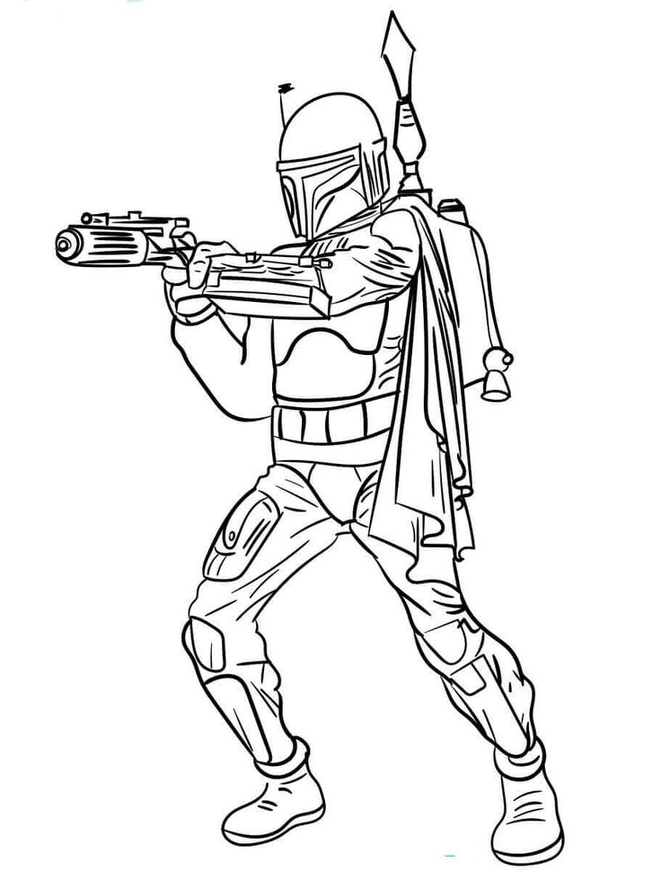30 Free Star Wars Coloring Pages Printable Coloring