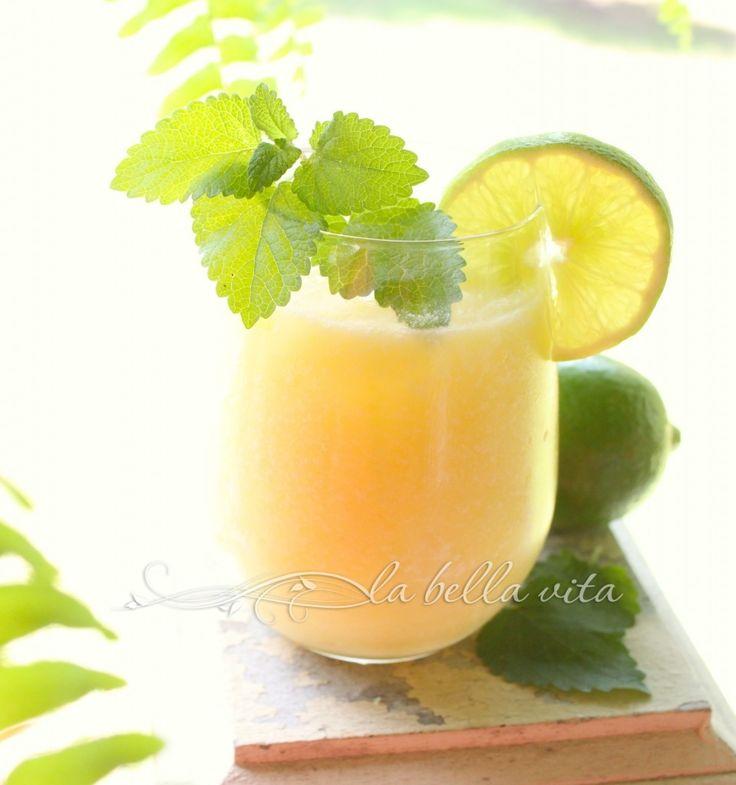 Coconut Lime Pineapple Coolers | La Bella Vita Cucina