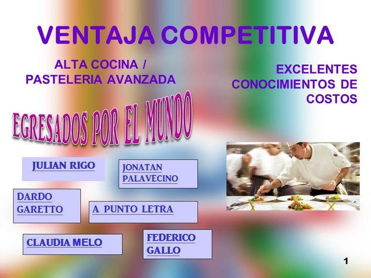 Ventaja Competitiva por estudiar en nuestra institución!