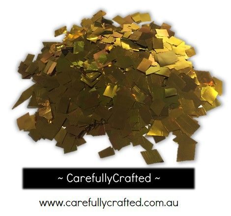 CarefullyCrafted - 25 Grams Tissue Foil Confetti - Gold - 0.25 inch Squares  - wedding, party, celebration, gold confetti, foil confetti, confetti, squares, foil pieces, decoration, event décor, wedding planning http://carefullycrafted.com.au/25-grams-tissue-foil-confetti-gold-0-25-inch-squares-cs8/