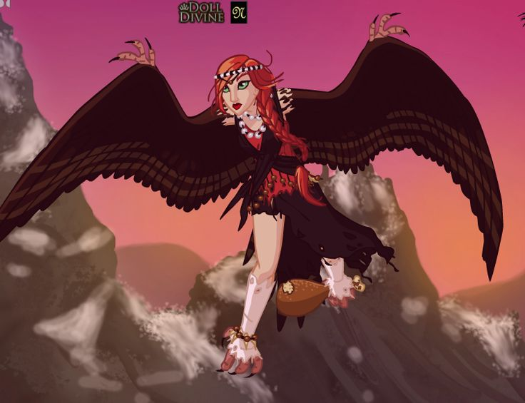 Myself In Harpy Form