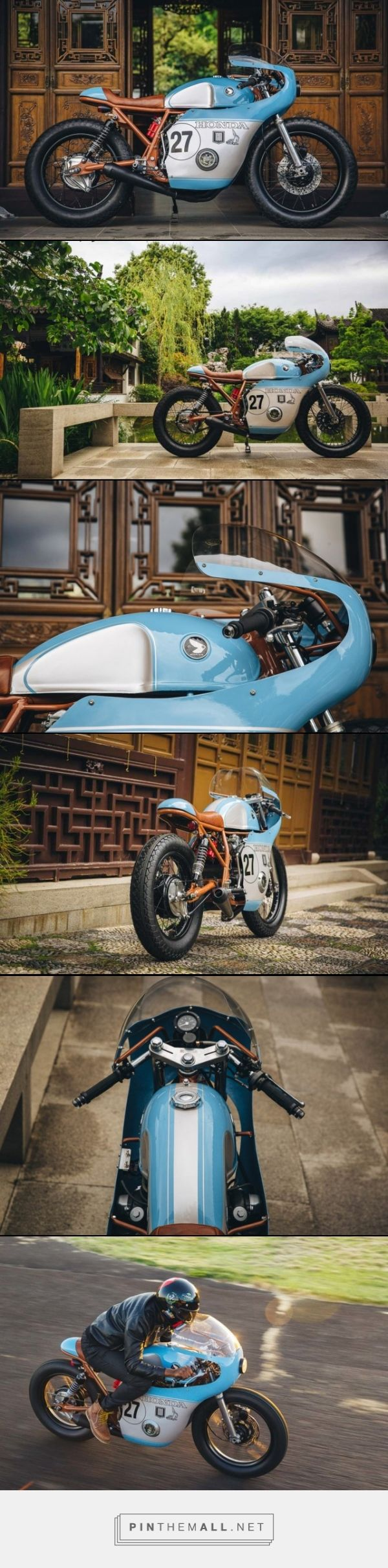 1977 Honda CB 550 by Little Horse Cycles [CFCM]