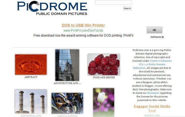 Un directorio y buscador con una importante colección de fotos de dominio público, para uso gratuito en proyectos educativos, personales y comerciales.