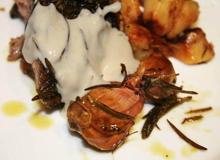 La Cuisine de Bernard: L'Epaule d'Agneau à la Crème d'Ail