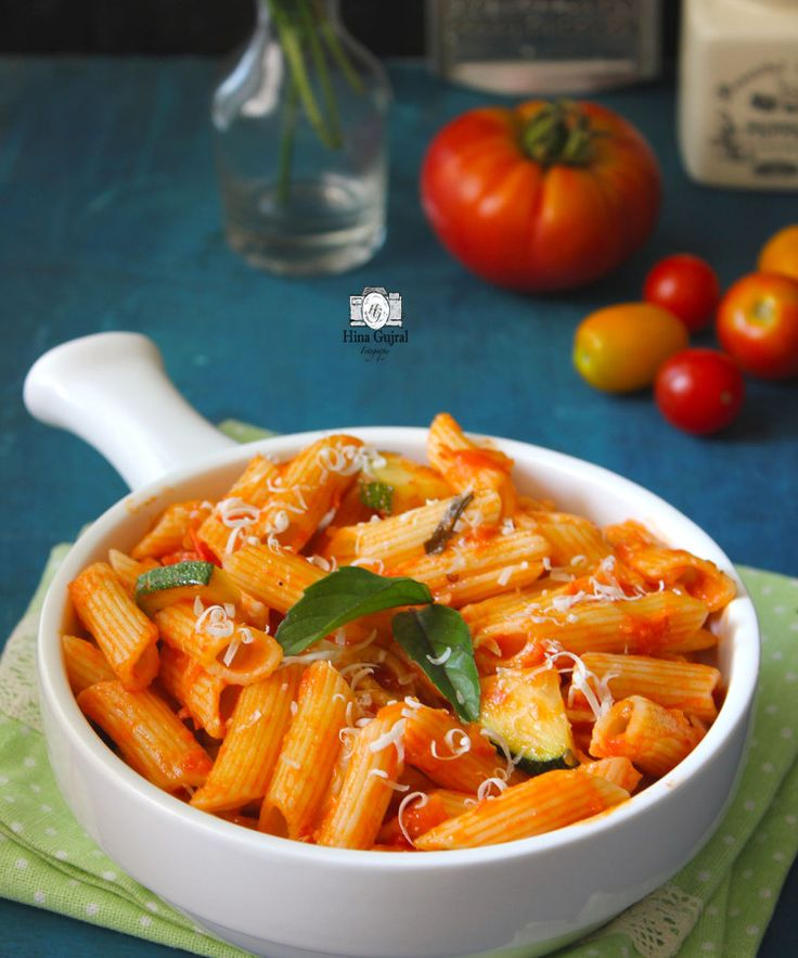 Pasta in Red Sauce is a delicious Italian pasta dish bursting with robust flavors of fresh tomato sauce. funfoodfrolic.com
