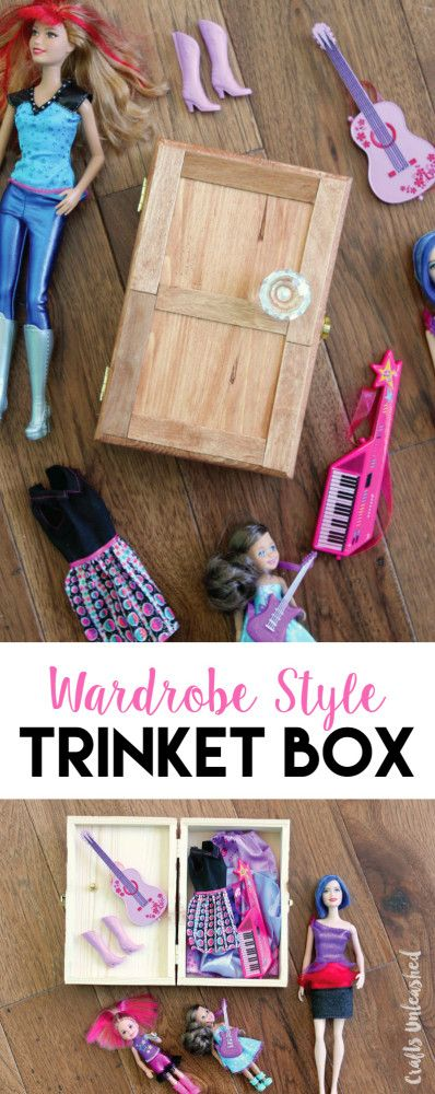DIY Trinket Box for Kids: Wardrobe Style - Consumer Crafts