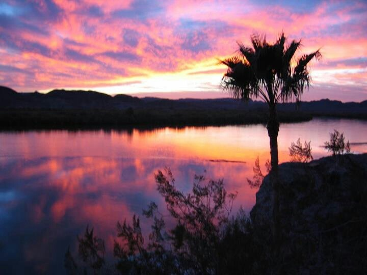Sunset, Martinez Lake, Yuma Arizona