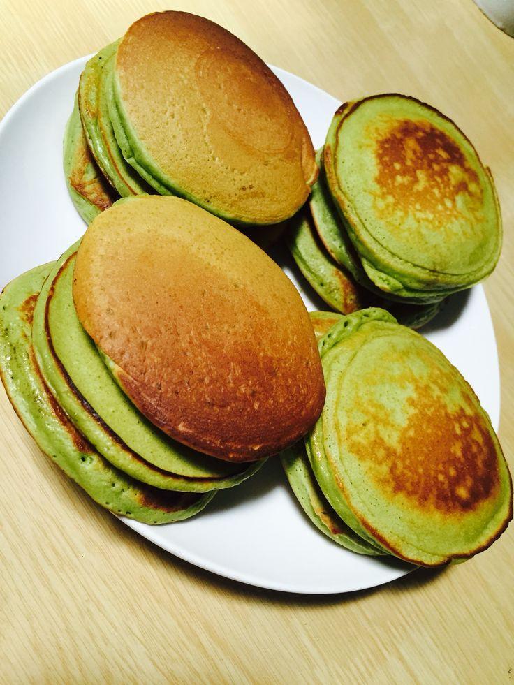 Greentea pancake