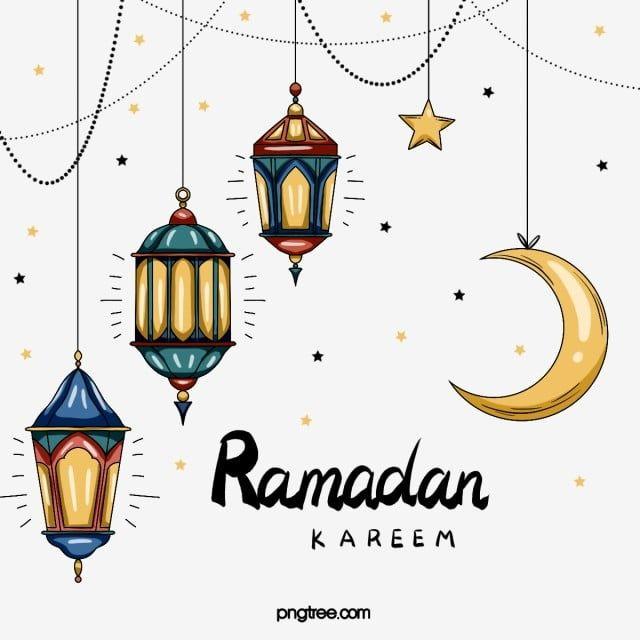 Ramadan Festival Elements In Hand Drawn Style Ramadan Moon Cartoon Png Transparent Clipart Image And Psd File For Free Download Ramadan Images Ramadan Background Ramadan
