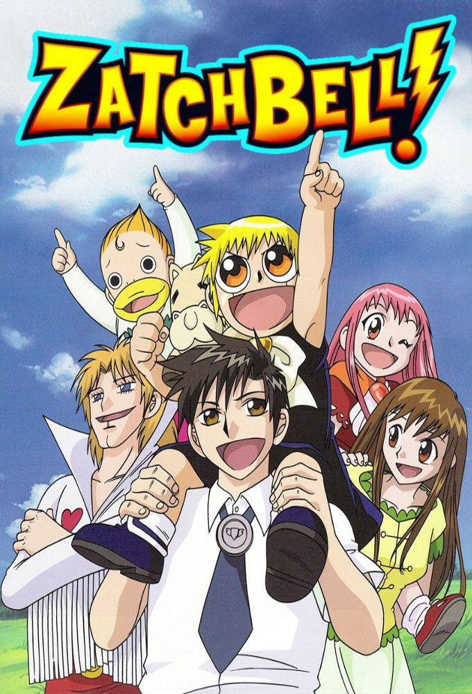 Zatch Bell! Season 2 imagens) Anime, Arte, Filmes