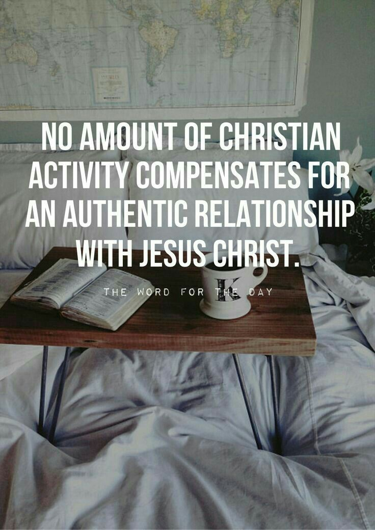 It's the difference between being a fan and being a follower. Relationship is what Christianity is about, not so much religious practices.