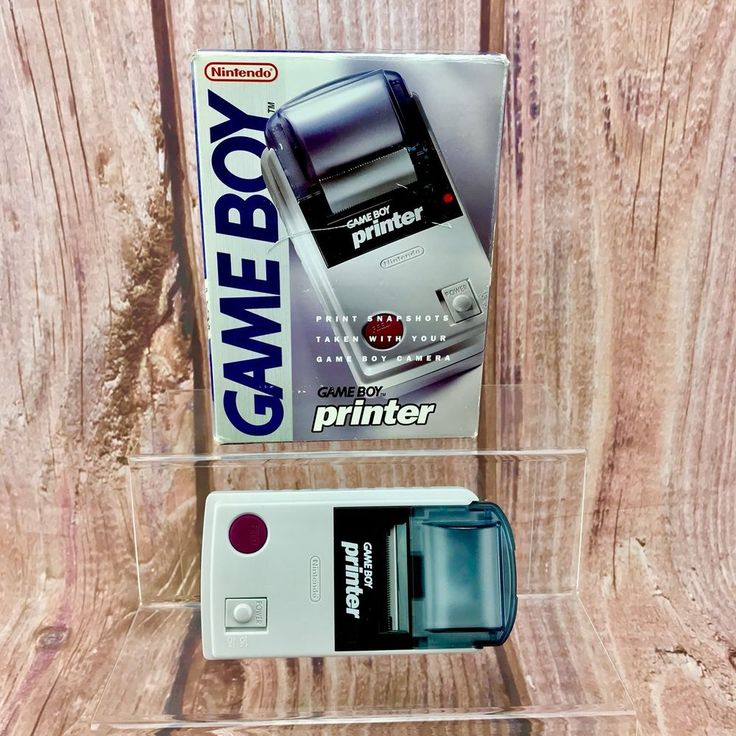 Genuine Rare Original Nintendo Gameboy Printer boxed Brand New  | eBay