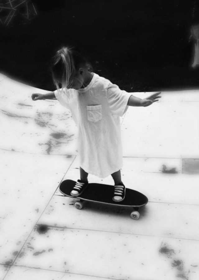 little skater girl :) .. watch out.. she's gonna be an awesome #skater girl someday...