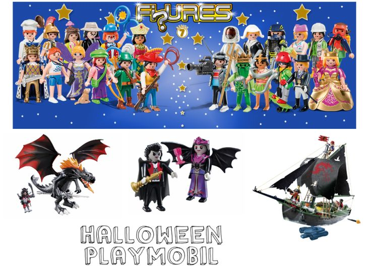 Loving these Play Mobil characters especially for Halloween!
